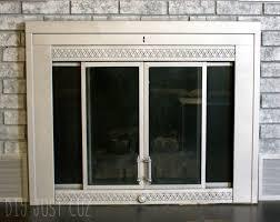 revamp your ugly fireplace door
