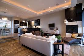 dining room with modern interior design trend for home decor