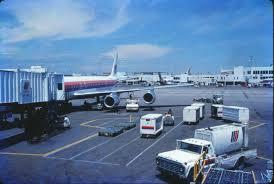 united baggage international stapleton international airport united dc 8 at gate colorado