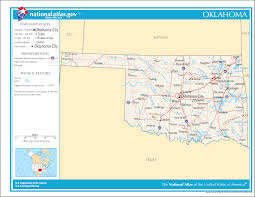 National Parks In Colorado Map by Oklahoma Facts National Parks Landmarks And Pictures