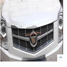 cadillac srx trim packages aliexpress com buy chrome front grille trims 2 pcs for cadillac