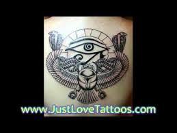 beautiful egypt tattoo designs youtube
