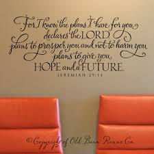 jeremiah 29 for i know the plans i have for you scripture jeremiah 29 for i know the plans i have for you scripture verse wall