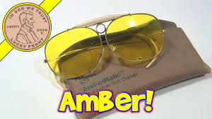 ray ban vintage 70 u0027s shooting glasses bausch u0026 lomb ambermatic