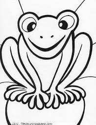 princess frog coloring princess frog