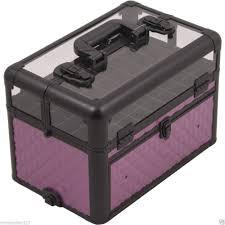 case sparkles beauty nail designs black aluminium nail carry case