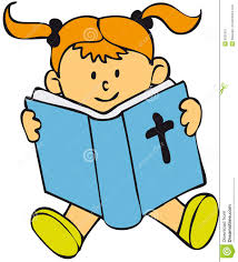 reading bible clip art haired child reading sat in the