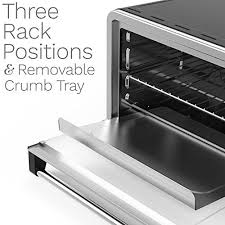 Broiler Pan For Toaster Oven Home 6 Slice Convection Toaster Oven Stainless Steel Countertop