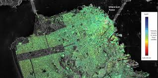 San Francisco Liquefaction Map by New Satellite Imagery Reveals Sinking Millennium Tower Temblor Net