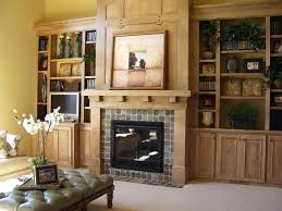 brick fireplace living room ideas designs tv layout dining kitchen