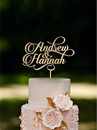 name cake topper personalized wedding cake topper custom name cake toppers