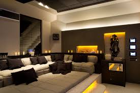 wonderful home theater decor picture basement living room sofa