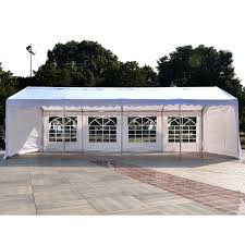 Patio Canopy Gazebo by Outsunny 13 U0027x26 U0027 Heavy Duty Outdoor Carport Wedding Party Event