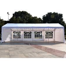 Outdoor Patio Canopy Gazebo by Outsunny 13 U0027x26 U0027 Heavy Duty Outdoor Carport Wedding Party Event