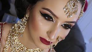 real bride asian bridal makeup traditional signature look you