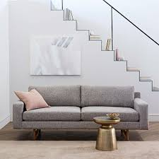 Small Space Sofa by Guide Small Space Decorating West Elm