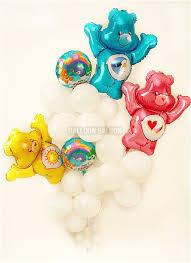 birthday balloons care bears