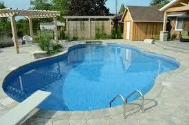 Deep Backyard Pool by The Vangelders Inground Pool Pioneer Family Pools