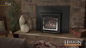 harman p35i clean burning pellet stove insert on vimeo