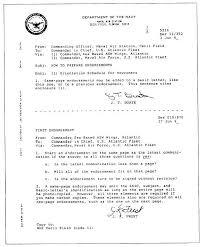 standard naval letter format letter format 2017