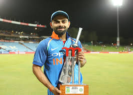 5 records created by virat kohli in the odi series against south africa