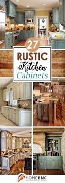 kitchen cabinet ideas 27 best rustic kitchen cabinet ideas and designs for 2021
