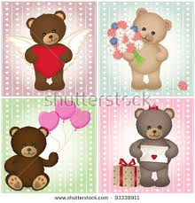 teddy bears inside balloons teddy heart stock images royalty free images vectors