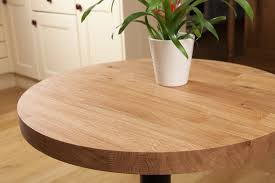 reclaimed oak table top solid oak restaurant tabletop round 40mm