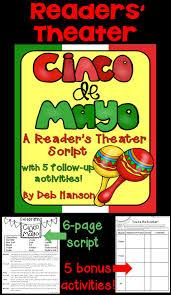 this readers theater cinco de mayo script has parts for 15