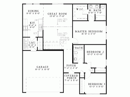 eplans colonial house plan empty nest home 1250 square feet
