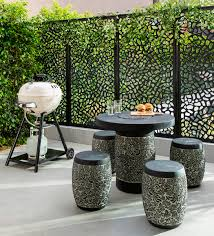 Outdoor Furniture For Small Spaces by Small Space Chic Outdoor Inspiration Package At Bunnings