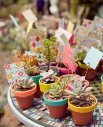 edible wedding favor ideas succulent wedding favours ideas wedding favors