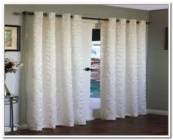 Glass Door Curtains White Sliding Glass Door Curtains Design Ideas Decors