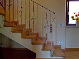 ringhiera per scala bergamaschi serramenti parapetto per scale ringhiere in ferro
