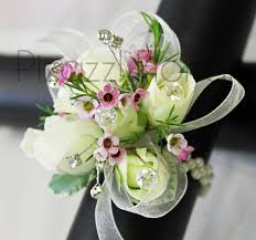 white corsages for prom prom corsages pizazz florals