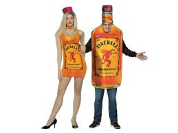 Bottle Halloween Costume Dress Bottle Fireball Whiskey Halloween