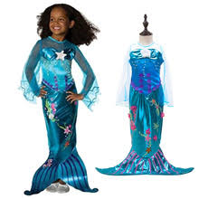 Mermaid Halloween Costume Toddler Halloween Dress Kids Promotion Shop Promotional Halloween
