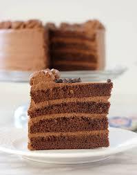 brown cake chocolate genoise chocolate sponge cake baking sense