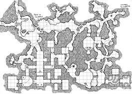 old hand drawn dungeon maps rpg ready