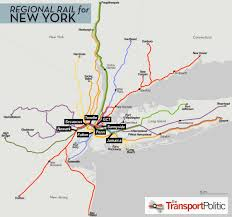 Chicago Train Station Map by Regional Rail For New York City U2013 Part Ii The Transport Politic