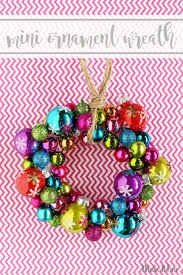 mini ornament wreath sugar bee crafts