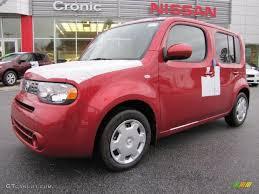 2011 scarlet red metallic nissan cube 1 8 s 43991228 photo 10