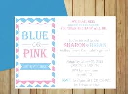 gender reveal invitation template printable gender reveal invitation editable template