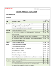 Core Qualifications List 9 Examples Of Training Sheets