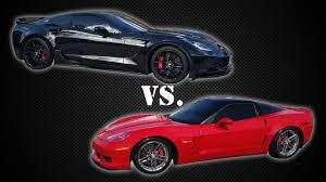2006 corvette z06 horsepower supercharged 2006 c6 corvette z06 vs stock 2015 c7 z06 race