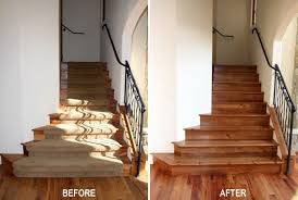 madrone stair treads and risers u2039 esl hardwood floors portfolio