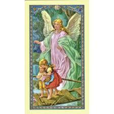 prayer to guardian angel prayer card the catholic company