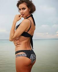 irina shayk nude pictures irina shayk flaunts skimpy swimwear from the beach bunny 2014