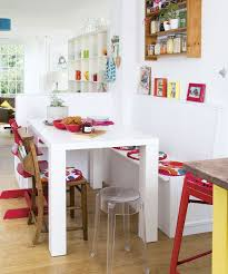 dining room with bench seating kitchen islands dining with table also decoration and fitted