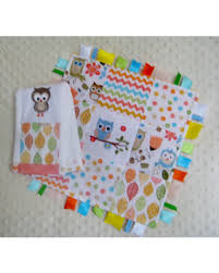 ribbon trim shopping sales on baby shower gift set embroidered owl burp